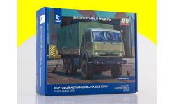 Сборная модель КАМАЗ-53501 6x6 Мустанг 1307AVD