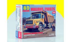 Сборная модель Magirus-290D26K самосвал KIT 1286 AVD                                          Бесплатная доставка по России - 1700!