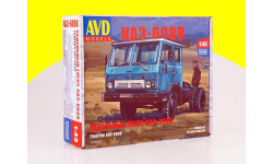 Сборная модель седельный тягач КАЗ-608В AVD Models KIT 1323AVD, сборная модель автомобиля, 1:43, 1/43, Автомобиль в деталях (by SSM), ЗИЛ
