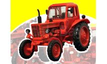 Трактор МТЗ-80 Беларусь, масштабная модель трактора, Тракторы. История, люди, машины. (Hachette collections), scale43
