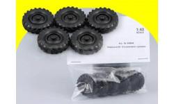 Набор колёсных дисков и покрышек ИК-8 для Горький-63, похожих на ГАЗ-63