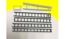 Кит Набор лестниц для пожарных машин (Лестница-палка, Лестница-штурмовка; Лестница-трехколенка), сборная модель автомобиля, DiP Models, scale43