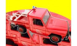 Peugeot P4 (лицензия Mercedes-Benz G-Klasse)  'Haute Savoie Fire Brigade' - 1/43 - Solido, масштабная модель, norev/atlas, scale43