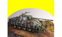 Pz. KPFW. V Panther Ausf.A) 1/43 1:43 танк, масштабные модели бронетехники, scale43, IXO