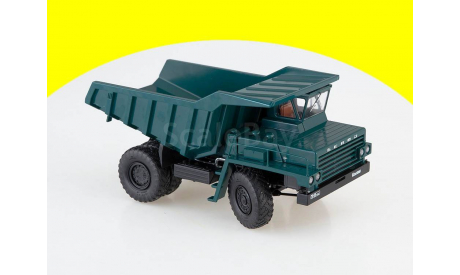 10233 Карьерный самосвал БЕЛАЗ-540 опытный (зеленый), масштабная модель, 1:43, 1/43, Автоистория (АИСТ)