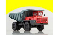 102378 Карьерный самосвал БЕЛАЗ-540А красный-серый, масштабная модель, 1:43, 1/43, Автоистория (АИСТ)
