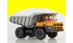 102392 Карьерный самосвал БЕЛАЗ-7522 ранний, оранжевый/серый