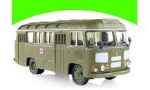 ПАЗ-672М санитарный, масштабная модель, 1:43, 1/43, Советский Автобус