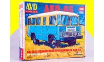 Сборная модель Автобус повышенной проходимости АПП-66   4019AVD, сборная модель автомобиля, scale43, AVD Models