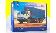 Сборная модель КАМАЗ-53212 бортовой с тентом 1411AVD, сборная модель автомобиля, scale43, AVD Models