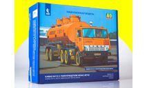 Сборная модель КАМАЗ-54112 с полуприцепом НЕФАЗ-96742 7061AVDAVD, сборная модель автомобиля, scale43, AVD Models