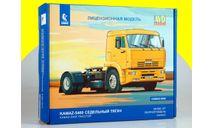 Сборная модель КАМАЗ-5460 седельный тягач 1444AVD, сборная модель автомобиля, scale43, AVD Models