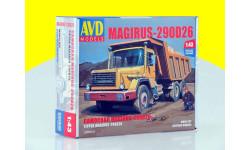 Сборная модель Magirus-290D26K самосвал KIT 1286 AVD
