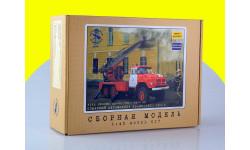 Сборная модель Пожарная автолестница АЛ-30 (131), 1970 г. 1160KIT, сборная модель автомобиля, 1:43, 1/43, AVD Models, ЗИЛ