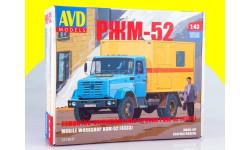 Сборная модель Ремонтно-жилищная мастерская РЖМ-52 (4333) 1213KIT