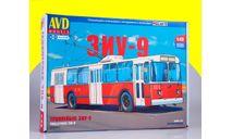 Сборная модель Троллейбус ЗИУ-9 4049AVD, сборная модель автомобиля, 1:43, 1/43, AVD Models