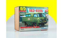Сборная модель УАЗ-450Б 1489AVD, сборная модель автомобиля, AVD Models, scale43
