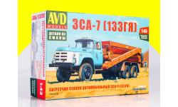 Сборная модель Загрузчик сеялок автомобильный ЗСА-7 (133ГЯ) 1364AVD, сборная модель автомобиля, 1:43, 1/43, AVD Models, ЗИЛ