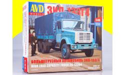 Сборная модель ЗИЛ-133Г4 бортовой (с тентом) 1257KIT, сборная модель автомобиля, scale43, AVD Models
