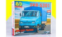 Сборная модель ЗИЛ-5301 Бычок 1405AVD, сборная модель автомобиля, 1:43, 1/43, AVD Models