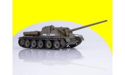 СУ-100, Наши танки 4, масштабные модели бронетехники, 1:43, 1/43