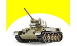 Танк Т-34 образца 1942 г. Танки. Легенды Отечественной бронетехники №1, сборные модели бронетехники, танков, бтт, DeAgostini (военная серия), scale43