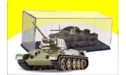 Танк Т-34 1942 г. Танки. Легенды Отечественной бронетехники №1, сборные модели бронетехники, танков, бтт, DeAgostini (военная серия), scale43