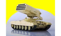 Т-72 ТОС-1 'Буратино' Масштабная модель Наши Танки №14, Т-72 ТОС-1 'Буратино', масштабные модели бронетехники, 1:43, 1/43, Modimio