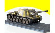 Танки. Легенды Отечественной бронетехники №7, ИСУ-152, масштабные модели бронетехники, DeAgostini, scale43