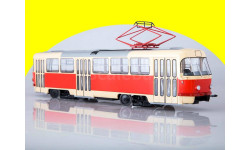 Трамвай Tatra-T3SU трёхдверный