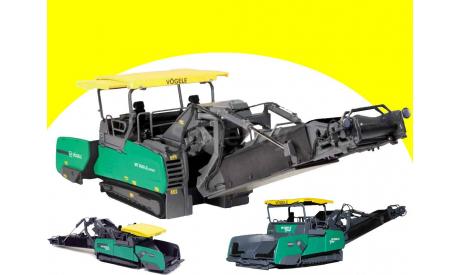 Vögele MT 3000-2i 1:50 NZG Фёгель асфальтоперегрузчик, масштабная модель трактора, scale50