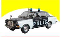 Volvo 164 - Полиция Швеции, масштабная модель, Полицейские машины мира, Deagostini, scale43