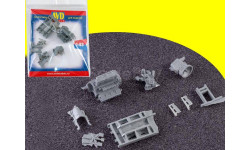 Двигатель ЯМЗ-238 с КПП, 1 шт, кит АВД AVD 143009401