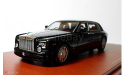 Rolls Royce Phantom EWB 2010г -TSM-, масштабная модель, Rolls-Royce, True Scale Miniatures, 1:43, 1/43