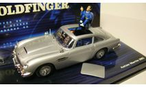 Aston Martin DB5 James Bond 'GoldFinger', масштабная модель, Minichamps, scale43