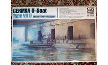 Подводная лодка German U-Boat Type VIID 1:350, сборные модели кораблей, флота, AFV Club, scale0