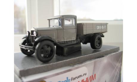 ГАЗ-АА, форумская модель scaleforum.ru, масштабная модель, НАП-АРТ, scale43