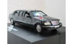 Mercedes-Benz S600L pullman W140. GM-ART (г.Барвиха), масштабная модель, 1:43, 1/43