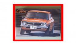 Toyota Levin TE27 сборная масштабная модель 1/24