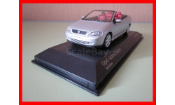 Opel Astra Cabriolet 2000 масштабная модель Minichamps 1/43