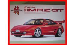 Toyota MR2 GT сборная масштабная модель 1/24