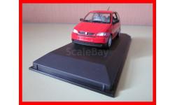 Seat Arosa 1997 масштабная модель Minichamps 1/43