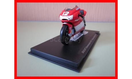 Ducati Desmosedici #12 T/ Bayliss Moto GP масштабная модель Ixo 1/24, масштабная модель мотоцикла, 1:24, IXO мотоциклы