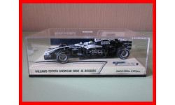 F1 Williams-Toyota Showcar 2008 N.Rosberg Minichamps 1/43