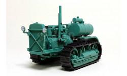 Сталинец-60, Тракторы 76, зеленый, масштабная модель трактора, Тракторы. История, люди, машины. (Hachette collections), scale43