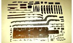 Комплект для самостоятельной сборки ЧМЗАП-9990-071 (Мастерская), сборная модель (другое), 1:43, 1/43