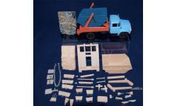 Транскит Бункеровоз КО-450 со строительным мусором, сборная модель (другое), 1:43, 1/43, vanamingo-nn