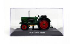 DEUTZ D 8005 A, Тракторы 84, зеленый, масштабная модель трактора, 1:43, 1/43, Тракторы. История, люди, машины. (Hachette collections)