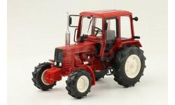 МТЗ-102 Беларус, Тракторы 103, красный, масштабная модель трактора, scale43, Тракторы. История, люди, машины. (Hachette collections)