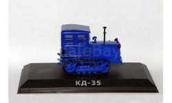КД-35, Тракторы 15, синий, масштабная модель трактора, Тракторы. История, люди, машины. (Hachette collections), scale43